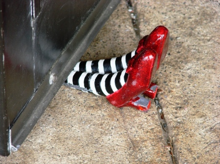 Ruby Slipper door stop