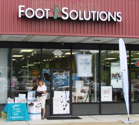 foot solutions shillington pa outside display