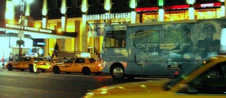 Madison Square Gardens welcomes the Soles4Souls RV