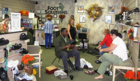 foot solutions caldwell nj busy