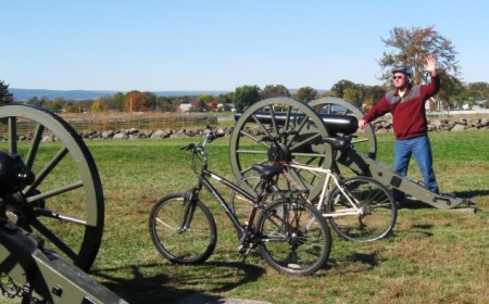 A unique way to tour Gettysburg battlefields