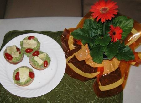 avacado havarti breakfast