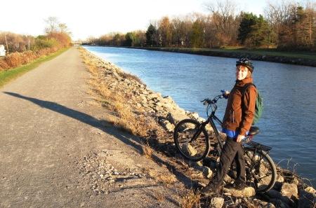 erie canal silvana bike