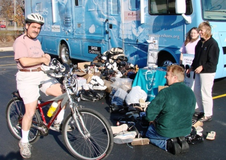 foot solutions st claire shores bicycle donor rv