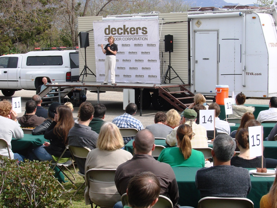 company overview deckers outdoor corporation Deckers is a privately held company in goleta, ca and is a headquarters business categorized under rubber and plastics footwear.
